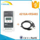 Controlador Tr4210A do picovolt da pilha de painel solar do Tracer 40A 12V/24V LCD