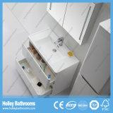 Moderne zowel Vloer als de Muur Opgezette Kabinetten van de Badkamers met 2 ZijEenheden (BF379D)