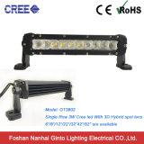 Barra de luces de LED de una sola fila de 200W barra de luz LED de 5W CREE LED