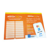 Impression faite sur commande de livret explicatif de brochure d'instruction de salaire de Walmart