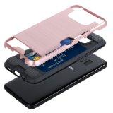 SamsungギャラクシーS8のためのパソコン+TPUの険しいハイブリッド装甲保護箱と
