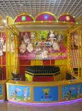Cabina de sonido del carnaval del juego del parque de atracciones de las botellas