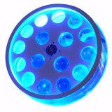 Lumières neuves d'effet de 16X3w RGBW DEL pour le club