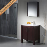 Qualitäts-China-Bad-Schrank-keramische Bad-Eitelkeit des festen Holz-Fed-1166
