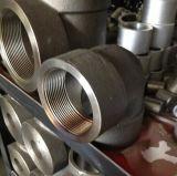 Coude d'acier inoxydable avec le plot soudé