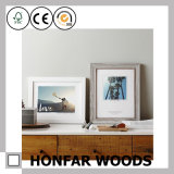 Bâti américain de photo d'illustration en bois solide de type pour Deocration