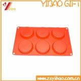 Molde de la cacerola/del silicón del pan del silicón seguro del alimento de la alta calidad mini