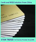 Cartão em branco do PVC do branco com tamanho de Cr80/30mil para o estoque do varejista