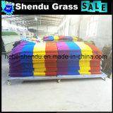 1mの幅の青い人工的な草のカーペットの熱い販売