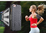 iPhoneのための卸売価格7/6の腕章の箱、Lycraの連続したスポーツの腕章のiPhone 6/7のための動揺の電話箱