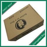Personalizado acanalada de Brown Caja de papel Kraft