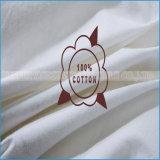 Hotel-Standard-Baumwolldeckel 100% füllte mit Ente Pillow unten