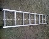 Gerade Stahl-oder Aluminium-/Aluminiumgestell-Jobstepp-Strichleiter für Ringlock Gestell
