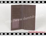 Бумажник классического реального кожаный материального портмона людей тонкого длинний для дела