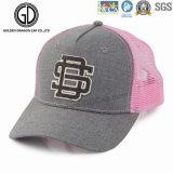 新しい方法網のピンクの調節可能なカスタム野球のトラック運転手の帽子