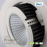 Viruta de la MAZORCA CRI>80 hecha en LED ahuecado China 25W Downlight