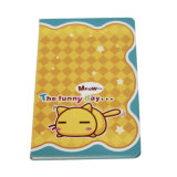 Lovely Printing Yellow Custom Paper Cover Cute Notebook