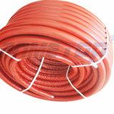 Tubulação do Pex-Al-Pex com isolação vermelha