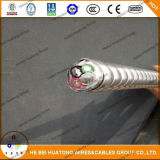 Cabo bloqueado da armadura do cabo de UL1569 Mc fita de alumínio
