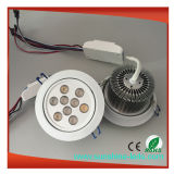 9W / 15W / 27W / 8W / 24W RGB LED Downlight con controlador de UL LED