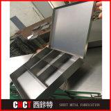 Подгонянная коробка хранения инструмента металла высокого качества