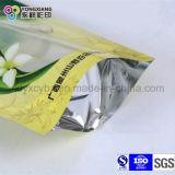 Malote de pé alinhado folha do empacotamento de alimento do petisco do produto comestível com Zipper