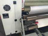 Película de plástico máquina de corte longitudinal de papel térmico y cobre / Aluminio
