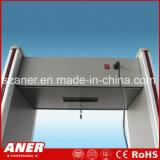 Caminata de la sensibilidad del fabricante de China alta a través de la puerta con 16 zonas