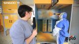 Pote de spray de pintura de revestimento eletrostático em pó