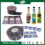 Étiquette d'emballage rétrécissable de PVC pour le joint de chapeau de bouteille d'eau