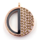 Lockets de flottement d'alliage de 30mm, collier pendant de Locket de charme pour des femmes