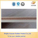 De witte Rubber Multi-Ply Riem van de Transportband van het Voedsel van het Canvas Nylon