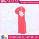 Ventilateur portatif électrique de main en plastique à piles mini