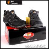 945 pattino di sicurezza di modello del cuoio della caviglia di serie PU/PU Outsole (SN5481)