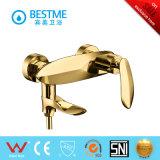 Mezclador de cobre amarillo de la ducha del cuarto de baño de la carrocería (BM-50081K)