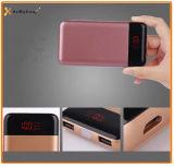 Véritables le pouvoir sorti de lampe de la capacité deux DEL encaisse 10000mAh pour le smartphone, batterie Li-ion portative