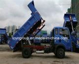 Sinotrukの軽トラック4X2 4m3のダンプトラック