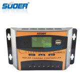 Regulador solar solar del regulador 12V 40A de la carga del sistema eléctrico del panel de Suoer (ST-C1240)