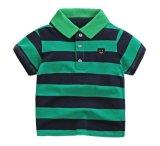 Stripe Children ' s Apparel Polo T - Shirt Summer Casual Wear 4 Color