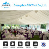 barracas do casamento do dossel de 12X40m para 300 convidados para o banquete de casamento