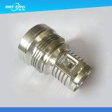 Части CNC алюминия подвергая механической обработке для вспомогательного оборудования освещения