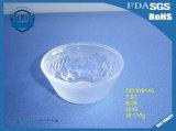Высеканный дождем малый прозрачный шар стекла фруктового салата