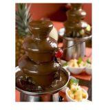 7つの層の熱い販売チョコレート噴水機械
