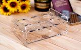 Изготовленный на заказ акриловый держатель стекла вина