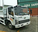Caminhão leve leve Diesel de caminhão de descarga das rodas do camião 6 do Tipper