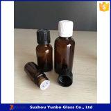 frasco de vidro ambarino do conta-gotas 5ml para a venda
