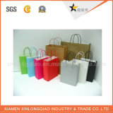 Las varias bolsas de papel respetuosas del medio ambiente de encargo más nuevas con respetuoso del medio ambiente