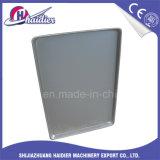 Aluminiumstahlplätzchen-Tellersegment-flache Backblech-rundere Ecke