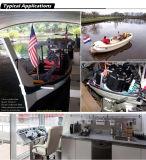 3HP電気ボートモーター、電気推進力の船外モーター