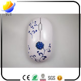 Negocio Individual China Bblue y porcelana blanca Wireless Mouse